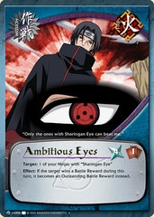 Ambitious Eyes - M-US006 - Uncommon - Unlimited Edition - Foil