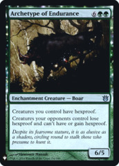 Archetype of Endurance - Foil