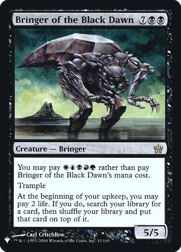 Bringer of the Black Dawn - Foil