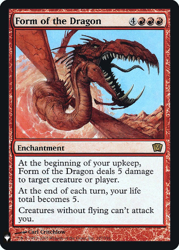 Form of the Dragon - Foil