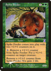 Spike Feeder - Foil (Mystery Booster)