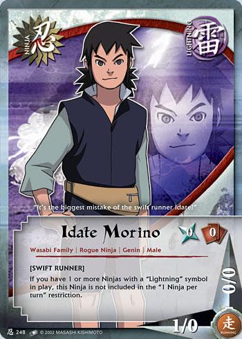 Idate Morino - N-248 - Common - Unlimited Edition