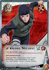 Genma Shiranui - N-243 - Common - Unlimited Edition - Wavy Foil