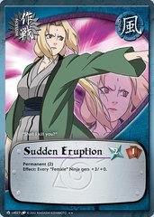 Sudden Eruption - M-US027 - Rare - Unlimited Edition - Diamond Foil