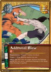 Additional Blow - J-US049 - Common - 1st Edition - Foil