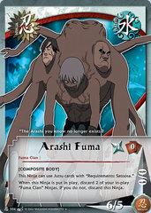 Arashi Fuma - N-304 - Uncommon - 1st Edition - Wavy Foil