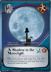 A Shadow in the Moonlight - M-US077 - Uncommon - 1st Edition - Diamond Checkered Foil