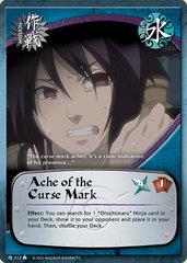 Ache of the Curse Mark - M-313 - Common - 1st Edition - Diamond Foil
