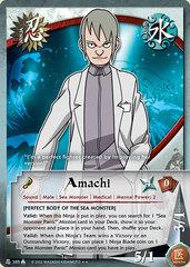 Amachi - N-385 - Rare - 1st Edition - Diamond Foil
