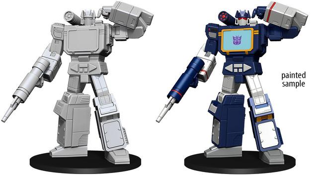 Transformers Unpainted Minis - Soundwave