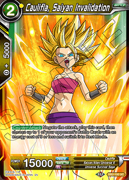 Caulifla, Saiyan Invalidation - DB2-100 - UC
