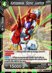Katopesla, Sonic Justice - DB2-148 - UC - Foil