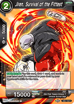 Jiren, Survival of the Fittest - DB2-156 - R