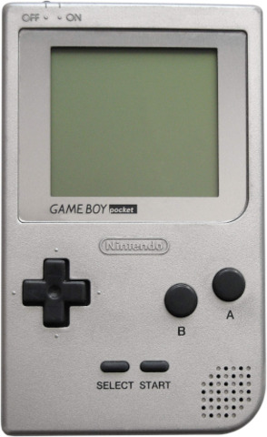 Nintendo Game Boy Pocket - Silver