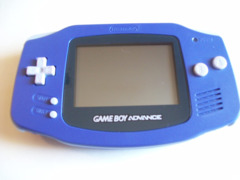 Blue Game Boy Advance System