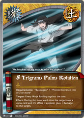 8 Trigrams Palms Rotation - J-473 - Common - Unlimited Edition - Foil