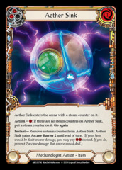Aether Sink - 1st Edition