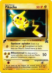 Pikachu - 4 - World Collection - Promo (Dutch)