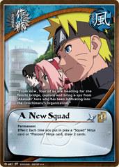 A New Squad - M-487 - Rare - Unlimited Edition