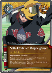 Self-Destruct Doppelganger - J-499 - Rare - 1st Edition - Foil