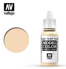 VAL70837 Vallejo Model Color Pale Sand 17ml (007)
