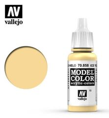 VAL70858 Vallejo Model Color Ice Yellow 17ml (013)