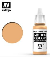 VAL70845 Vallejo Model Color Sunny Skin Tone 17ml (020)