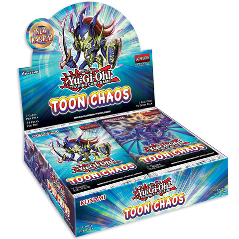 Toon Chaos 1st Edition Booster Box
