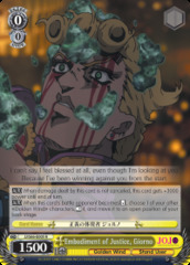 Embodiment of Justice, Giorno - JJ/S66-E005 - R