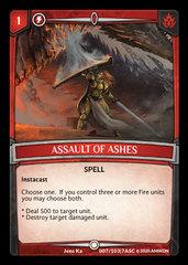 Assault of Ashes - Foil