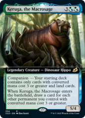 Keruga, the Macrosage - Foil - Extended Art