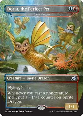 Dorat, the Perfect Pet - Sprite Dragon - Foil