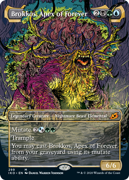 Brokkos, Apex of Forever - Foil - Showcase
