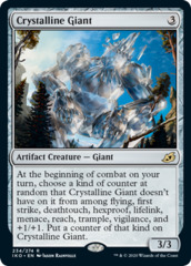 Crystalline Giant - Foil
