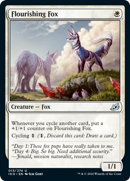 Flourishing Fox