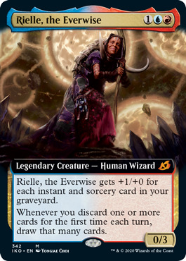 Rielle, the Everwise - Extended Art