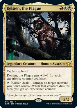 Kelsien, the Plague - Foil