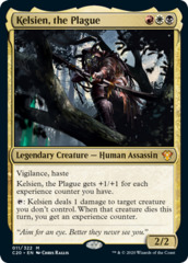 Kelsien, the Plague - Foil
