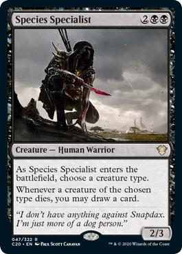 Species Specialist