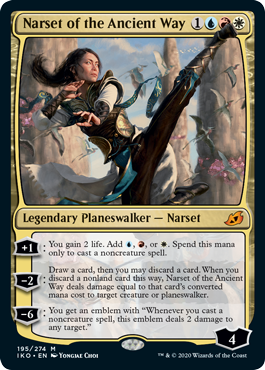 Narset of the Ancient Way - Foil
