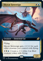 Skycat Sovereign - Foil - Extended Art