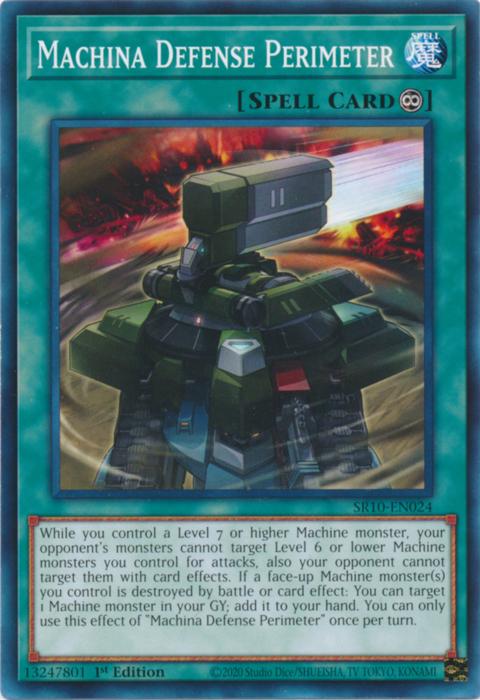 Machina Defense Perimeter - SR10-EN024 - Common - 1st Edition