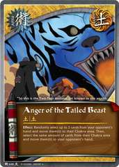 Anger of the Tailed Beast - J-648 - Uncommon - 1st Edition - Foil