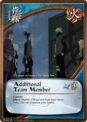 Additional Team Member - M-662 - Rare - Unlimited Edition
