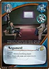 Argument - M-639 - Uncommon - Unlimited Edition - Foil