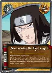 Awakening the Byakugan - J-712 - Uncommon - 1st Edition - Foil