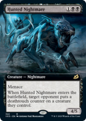 Hunted Nightmare - Extended Art