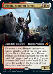Winota, Joiner of Forces - Extended Art