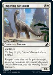 Imposing Vantasaur - Foil