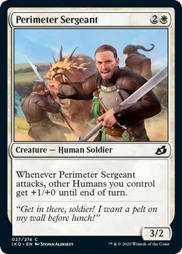 Perimeter Sergeant - Foil